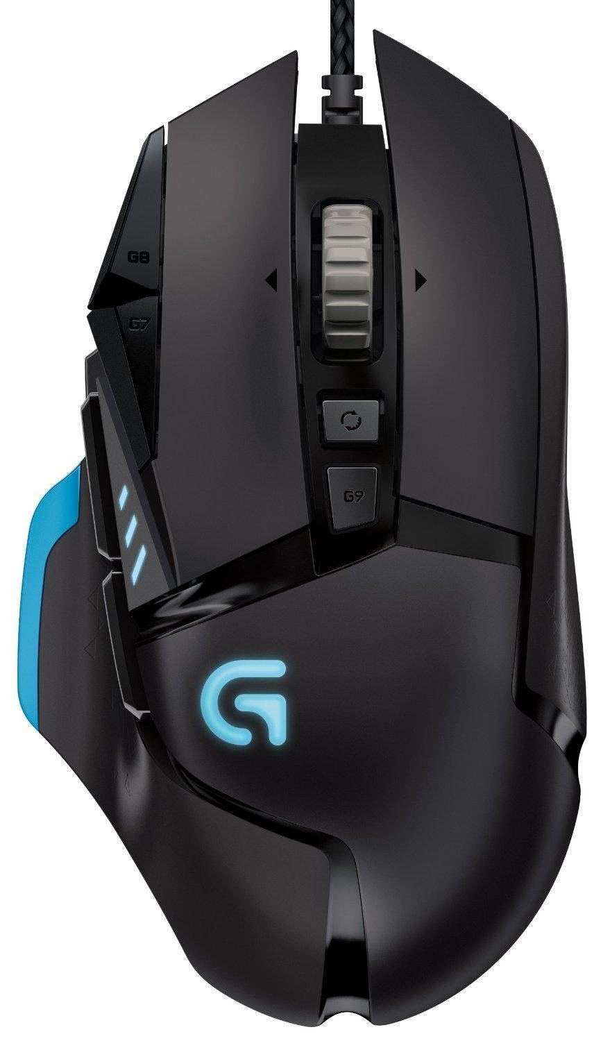 Mouse Gamer : Logitech G502 Proteus Core Tunable con Fully C