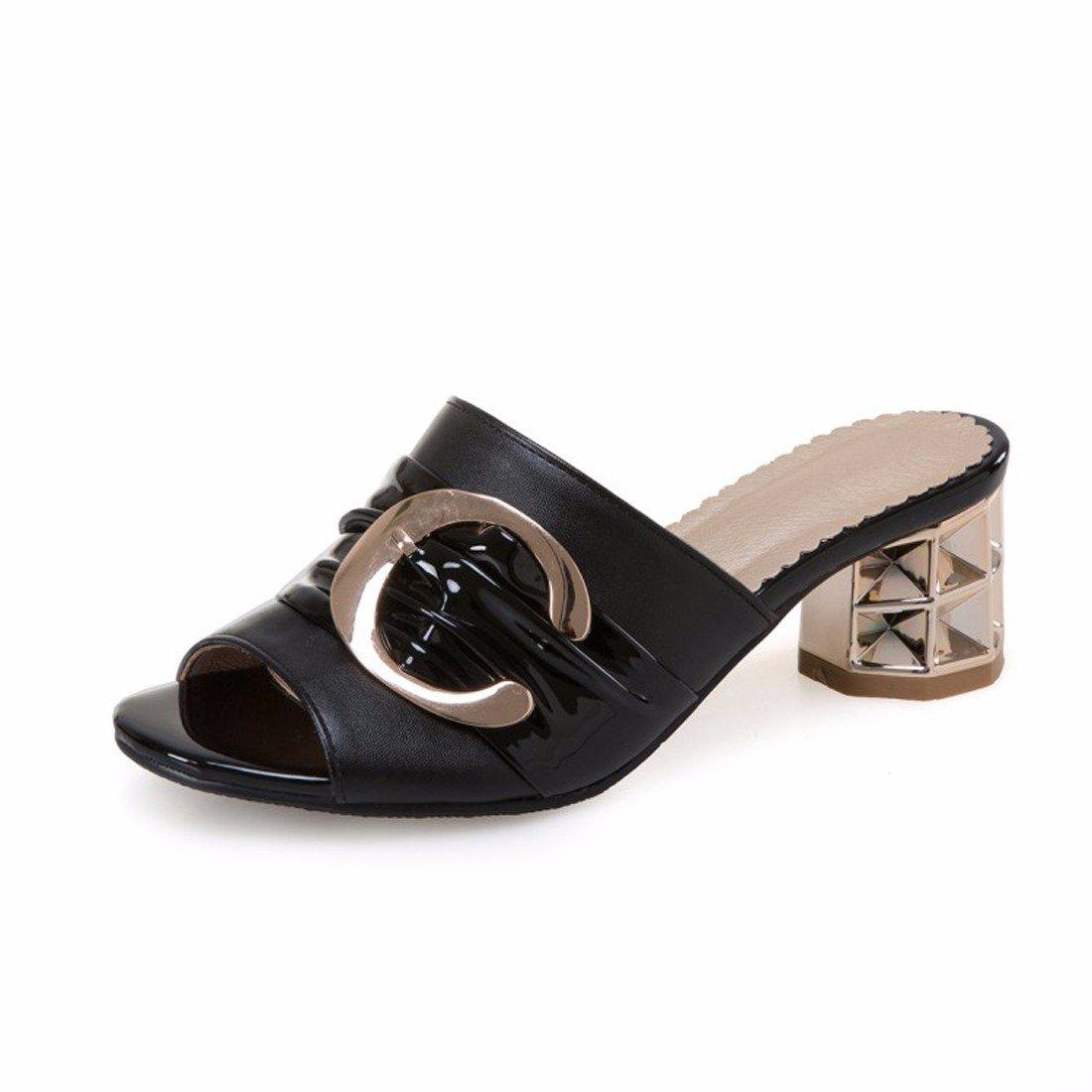GTVERNH Damenschuhe Coole Schuhe Schuhe Schuhe Grob Hacken Draußen