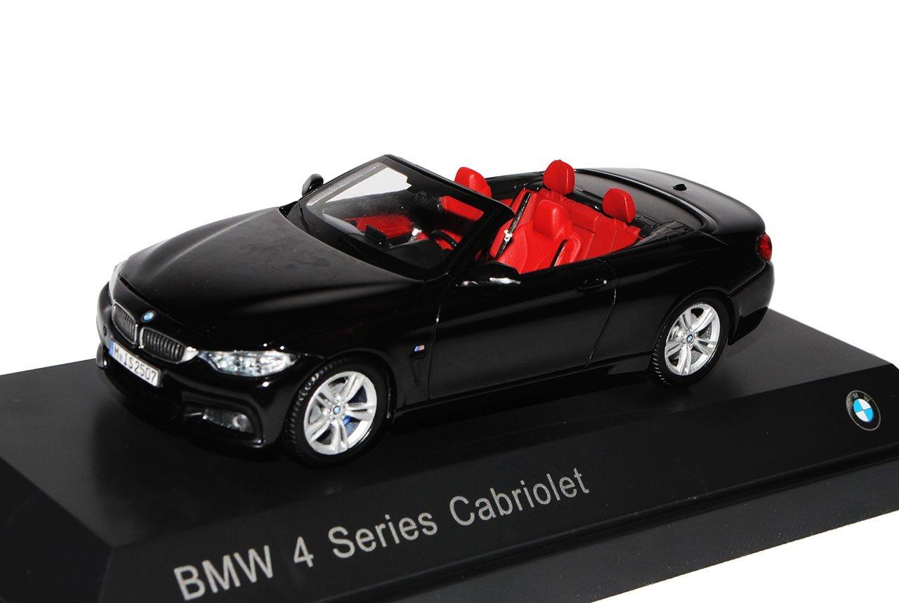 BMW 4er Cabrio Cabrio Cabrio M F33 Schwarz AB 2014 1 43 Kyosho Modell Auto 2ff8b8