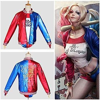 Harley Quinn Bomber Jacket Harley Quinn Apparel Harley Quinn Gift Harley Quinn Jacket Harley Quinn Clothing