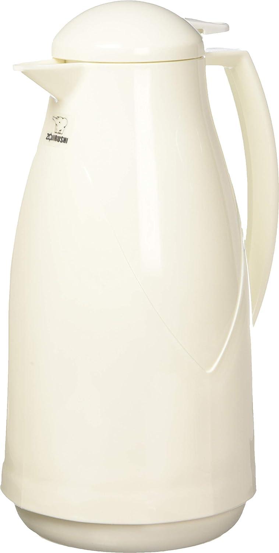 Zojirushi AG-KB10WB Euro Carafe, 1 Liter, White, Made in Japan