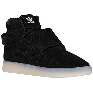 separation shoes 6fe20 81f04 Adidas Tubular Invader Strap Black Shoes For Men's: Buy ...