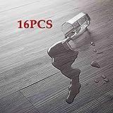 16 PCS 24 Square Feet, CO-Z Odorless Vinyl Floor