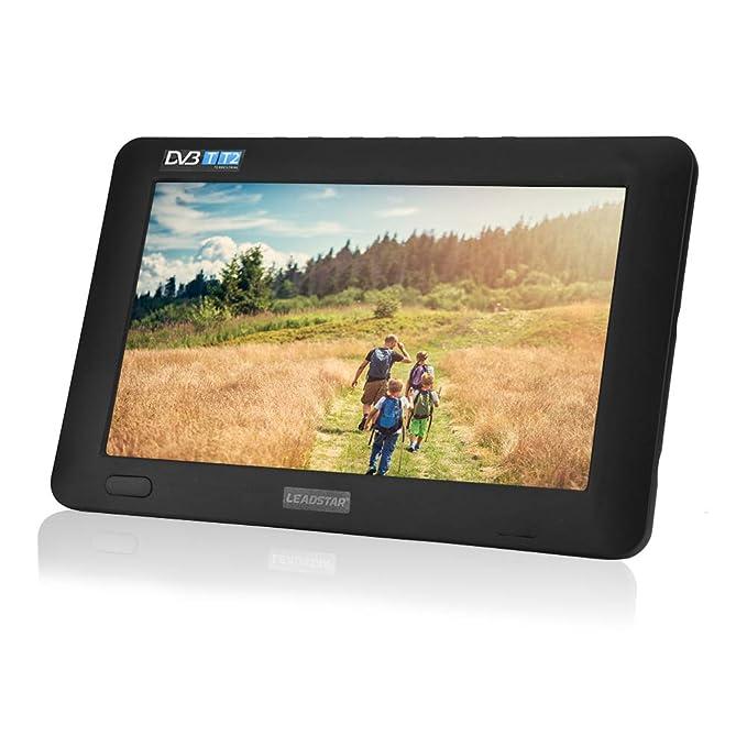 3 opinioni per Televisore portatile da 9 pollici, TV digitale portatile con DVB-T/DVB-T-T2