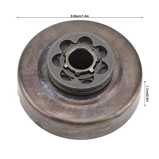 Amazon.com: Clutch Drum, 7 Teeth Clutch Drum With Sprocket Rim Replacement Fits to Stihl 017 018 021 MS170 MS180 MS250 Chainsaw Part: Home Improvement