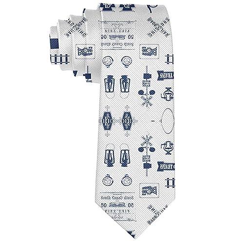 Hombres Navy Navy Símbolos Casual All Over Skinny Novedad ...