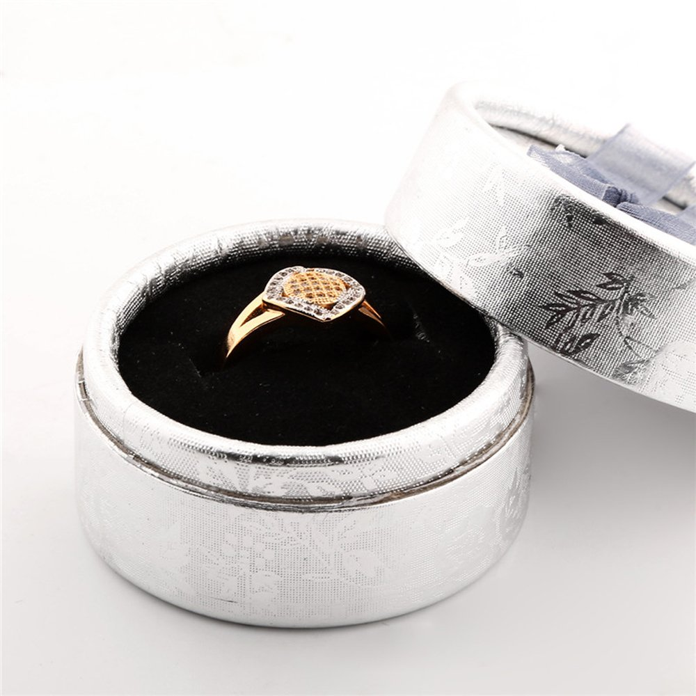 T-Jewelry Fashion Gold Plated Ring For Women White Jewelry Wedding Rings