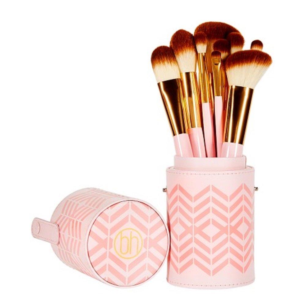 b1f88fcc6aa68 Amazon.com  BH Cosmetics Pink Perfection 10 Piece Brush Set  Beauty