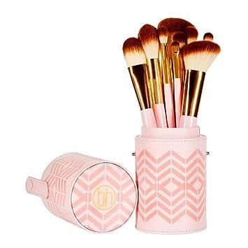 11809abb92f59 Amazon.com  BH Cosmetics Pink Perfection 10 Piece Brush Set  Beauty