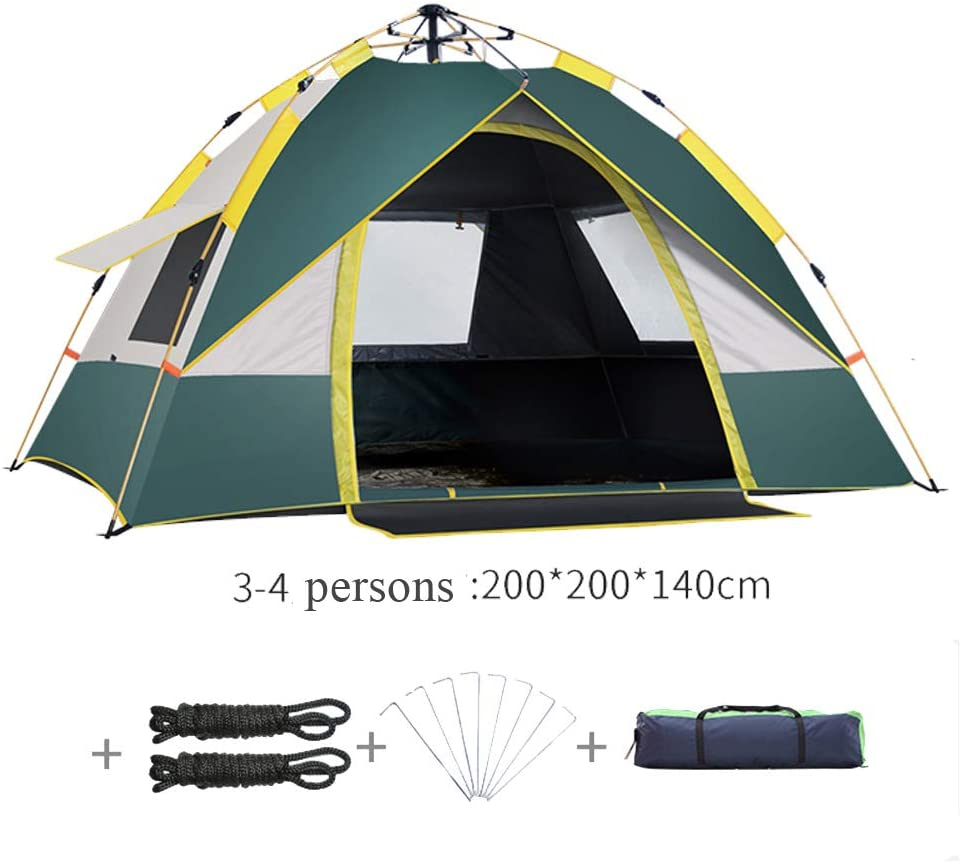 Tienda de campa/ña al Aire Libre Sombra Impermeable para Camping Picnic Protector Solar Autom/ático R/ápido Abierto Port/átil Dispositivo de Resorte hidr/áulico
