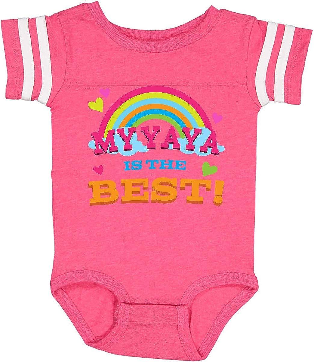 inktastic My Yaya is The Best Infant Creeper