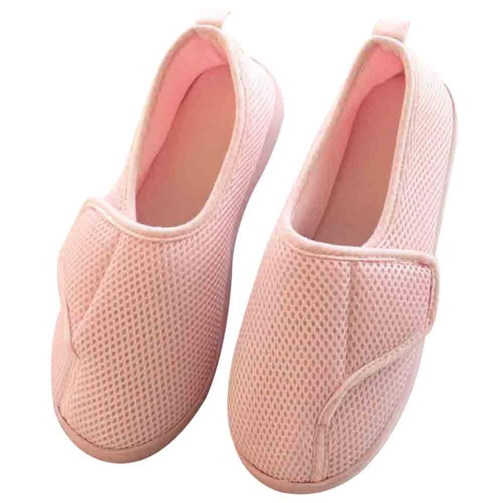 Women Extra Wide Slippers Diabetic Slippers Arthritis Edema Memory Foam Closed Toed Slippers
