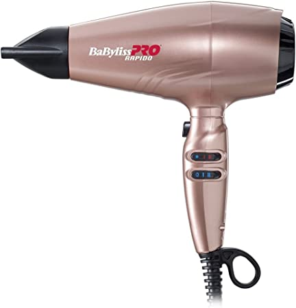 Sèche cheveux Babyliss 6732E GOLD ROSE 6732E | Darty