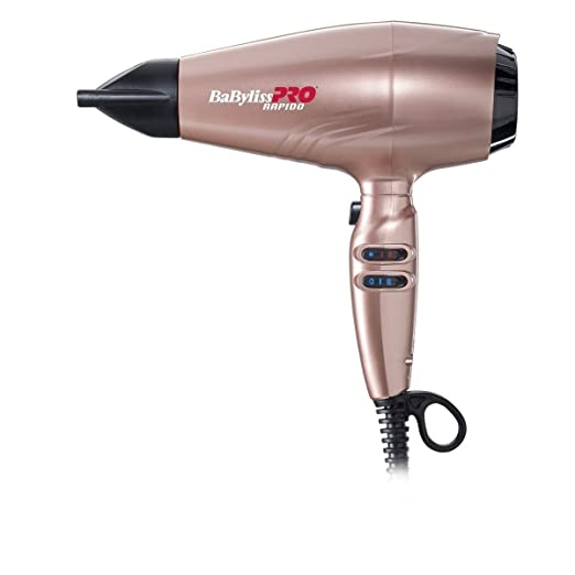 Amazon.com: Hair Dryer Rapido 2200W. 399 G. Ionic. Electro. 194 Km.H. Cobre: Beauty