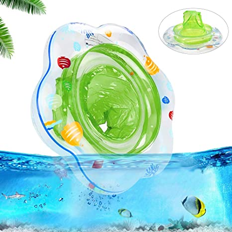 Blue SPECOOL Baby Swimming Ring Float with Seat Inflatable Child Swim Ring Ideal Aid for Toddler from 6 to 36 Months