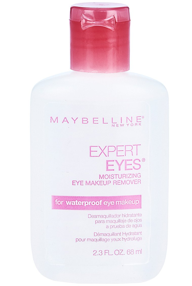 Maybelline Expert Eyes Moisturizing Eye Makeup Remover, For Waterproof Eye Makeup, 2.3 fl. oz. Inc. May-1472