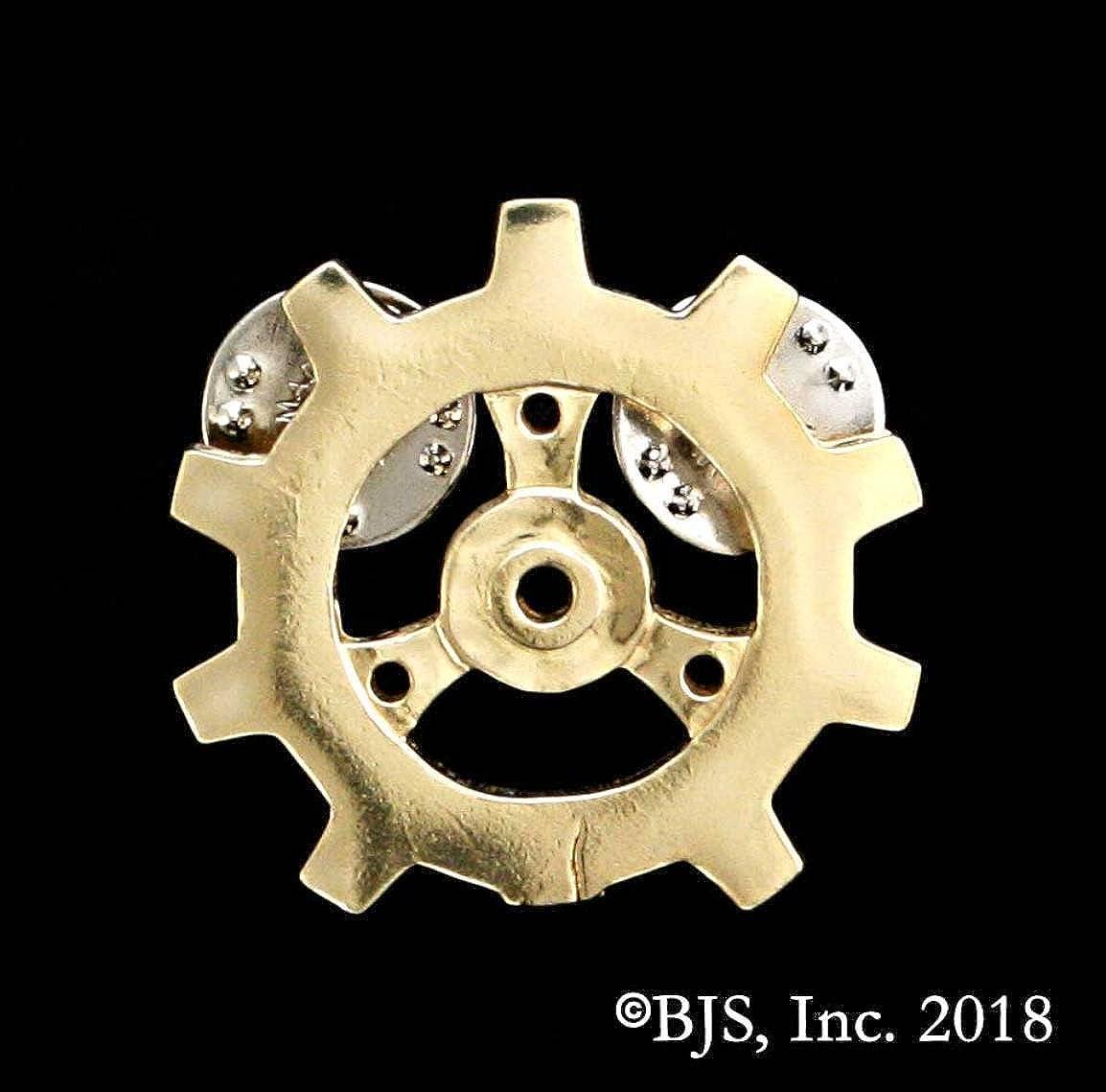 Badali Jewelry Officially Licensed Auris Brazen Gear Pin