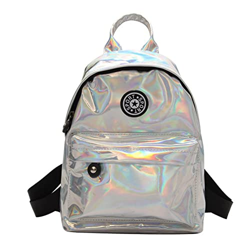 VHVCX 2018 mochilas pequeñas brillantes para el adolescente femenino colorido Mochila Mochila Mujeres Bling láser bolso que viaja, A: Amazon.es: Zapatos y ...