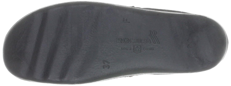 ROMIKA Romilastic 102 66002, Chaussons femme - Gris-TR-E1-328, 39 EU