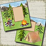 #5: LET'S GO CAMPING - Premade Scrapbook Pages - EZ Layout 2761