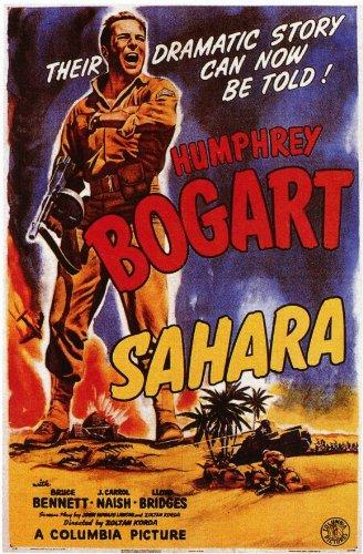 Sahara 11x17 Movie Poster (1943) Sahara Movie Poster