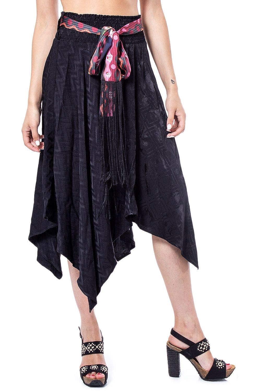 Desigual Luxury Fashion Mujer 19WWFW18BLACK Negro Falda | Otoño ...