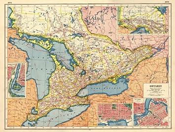 Amazon Com Ontario Niagara Falls Toronto Ottawa Plans
