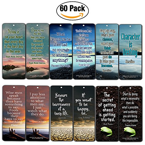 Creanoso Inspirational Bookmarks Inspiring Bookmarker product image