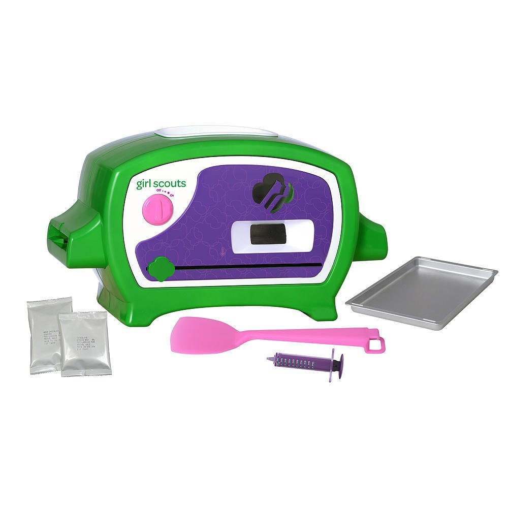 New Girl Scouts Deluxe Cookie Oven