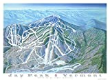 Wall Art Print entitled Jay Peak Vermont by James Niehues offers