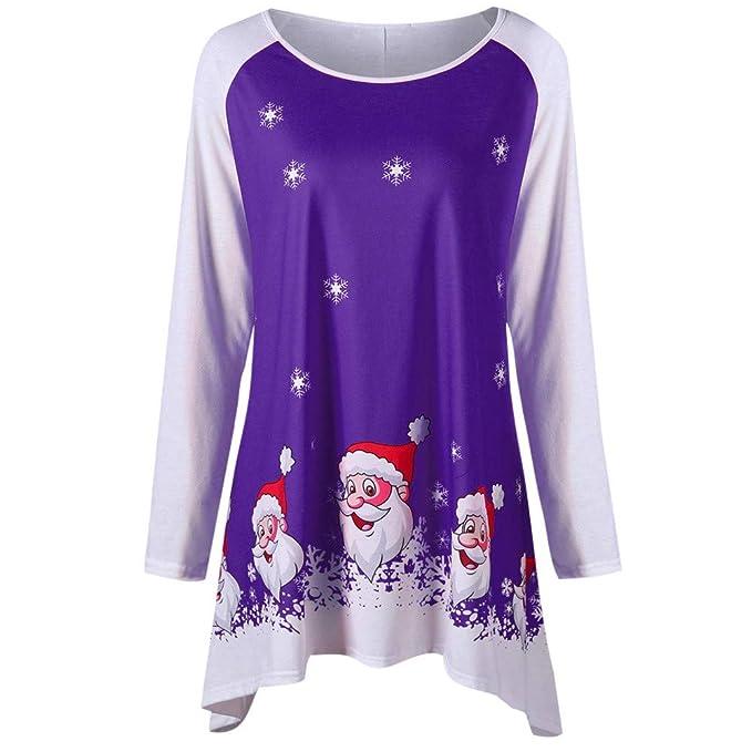 Kulywon Womens Oversized Christmas Cute Red Santa Knit Colorful Sweaters at Amazon  Women s Clothing store  4fa4e69c2