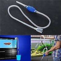 attachmenttou Water Change Cleaner Simple Practical Siphon Pump Filter Aquarium Fish Tank Vacuum 1.8m