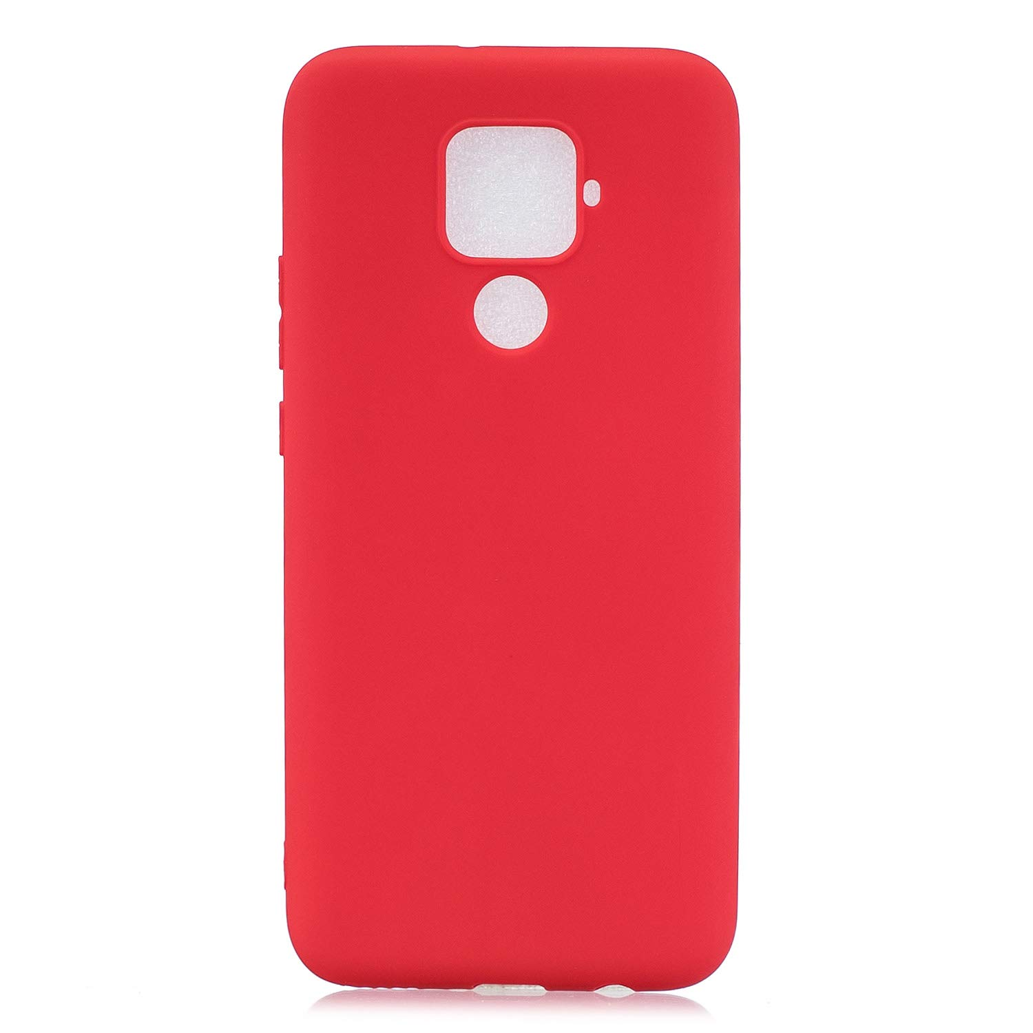 DasKAn Solid Color Matte Silicone Case for Huawei Honor 9X,Elegant Ultra Slim Soft Touch Rubber Back Cover Shockproof Drop Resistant Anti Scratch Flexible Gel TPU Protective Phone Case,Pink