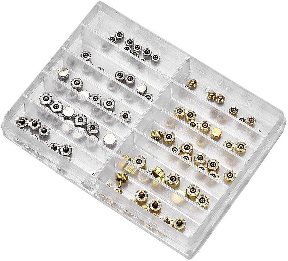Wasserdichte Uhr Krone Teil Ersatz sortiert Uhr Zubehör Reparatur Werkzeug  X