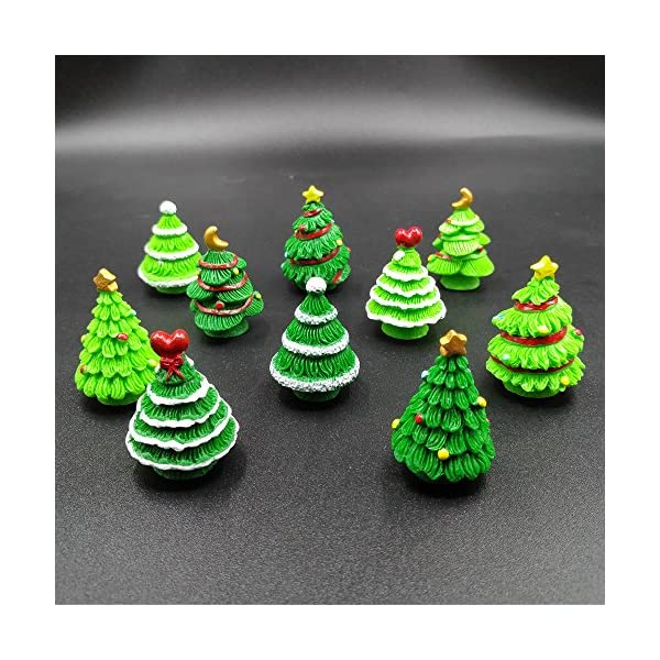 christmas trees miniature ornament kits