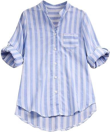 Camisas para Mujer Talla Grande, 2019 Verano Originales Moda ...