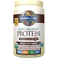 Garden of Life Raw Organic Protein Chocolate Powder, 20 Servings, Certified Vegan, Gluten Free, Organic, Non-GMO, Plant…