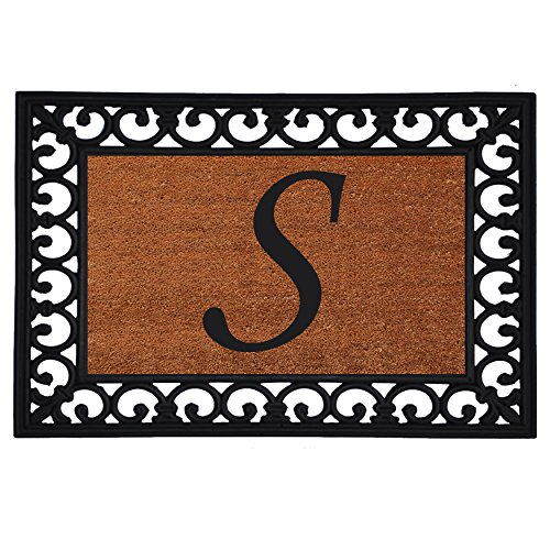 Home & More 180041925S Inserted Doormat, - Monogrammed Natural Shopping Results