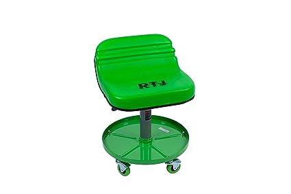 Swell Rtj 300 Lbs Capacity Pneumatic Mechanic Roller Seat Adjustable Rolling Stool Light Green Ibusinesslaw Wood Chair Design Ideas Ibusinesslaworg