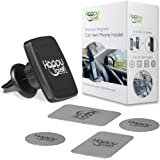 Magnetic Air Vent Cellphone Holder – 6 Super Strong Magnets – Universal Mobile Phone Mount for Any Smartphone - Works Best For iPhone 6/7/8 Plus, Samsung Galaxy S6/S7/S8 Edge, Note, Nexus, HTC and LG