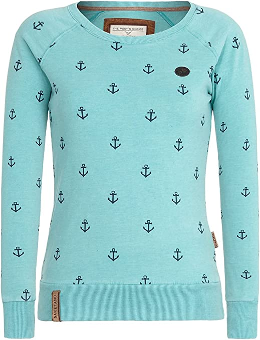 Naketano Damen Sweater Love Is A Trip Sweater