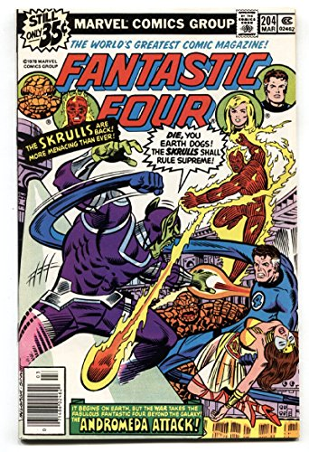 FANTASTIC FOUR #204 GREAT COVER-HIGH GRADE VF/NM-NOVA - Nova Nm