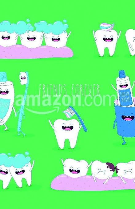 Divertido Dientes Juego de pasta de dientes y cepillo de dientes que son amigos para siempre