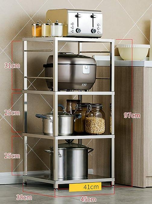 ZLL Bastidor de almacenamiento Adecuado para la cocina Sala de ...