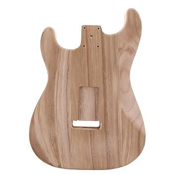D DOLITY Madera Inacabada Cuerpos Guitarras Eléctricas para Fenders ST Guitarras Bricolaje Parte: Amazon.es: Instrumentos musicales