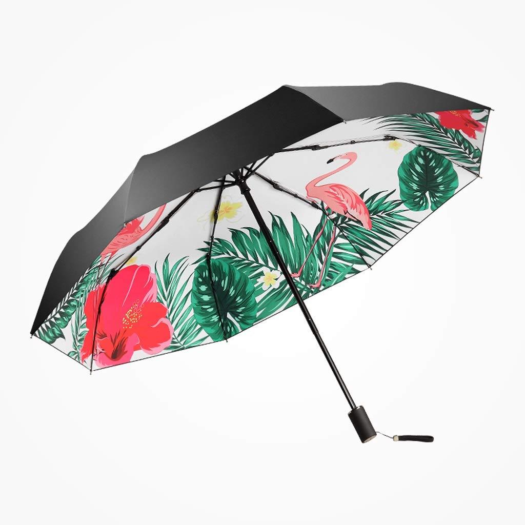 Parapluie imperméable à l\'eau à Double Usage THANSANDAU (Couleur : Noir)