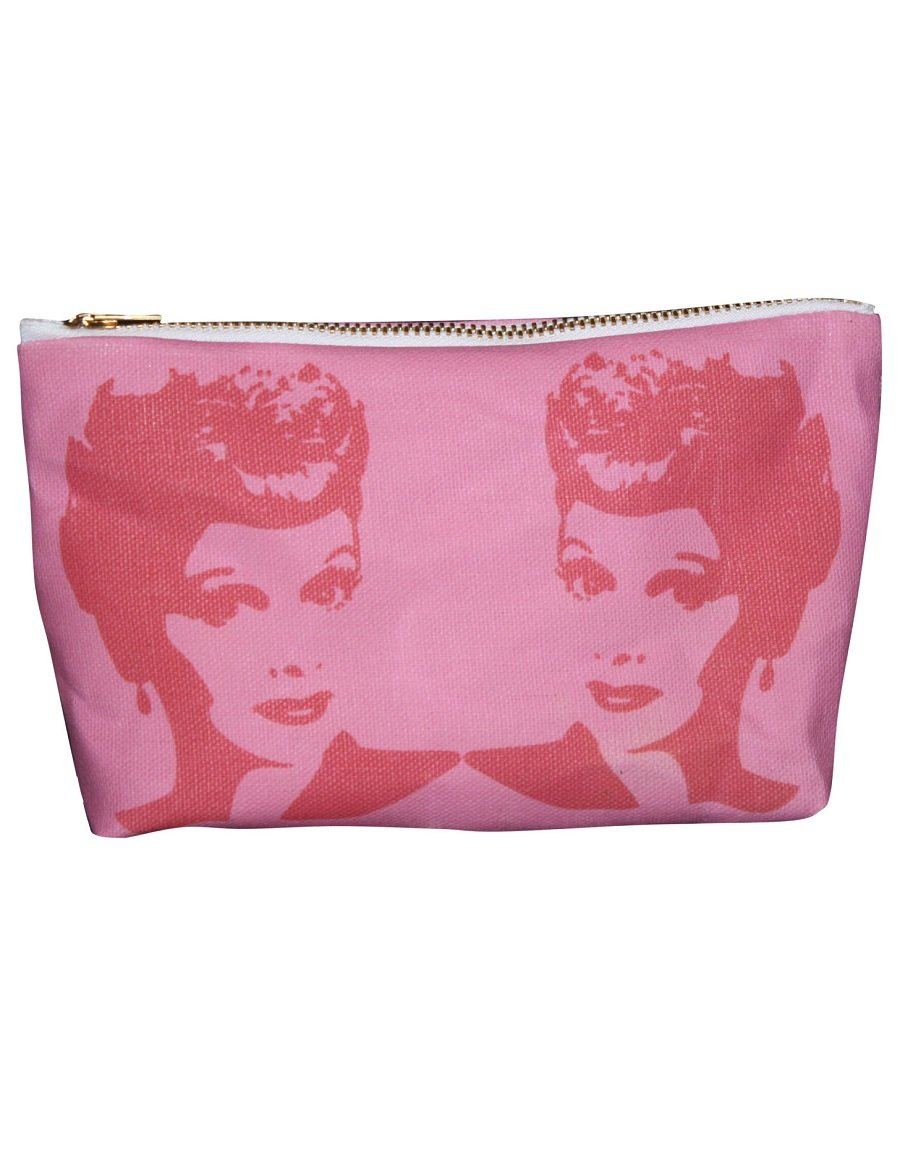 Lucille Ball Makeup Bag – Pop Icon Zipper Pouch