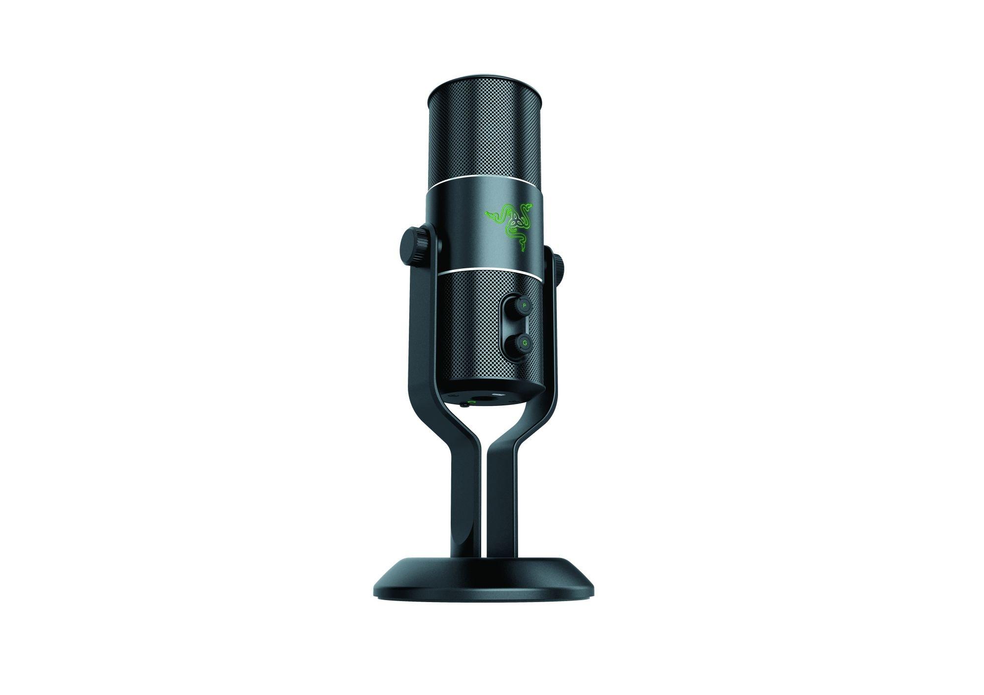 Razer Seiren - Elite Studio Multi-Pattern Numérique USB avec Microphone Numérique et Amplificateur de Casque product image