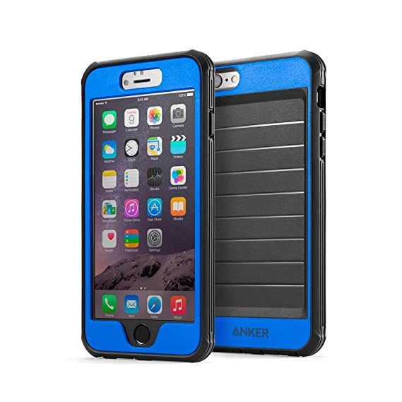df10f182b9d298 iPhone 6s Plus Case, Anker Ultra Protective Case with Built-in Clear Screen  Protector
