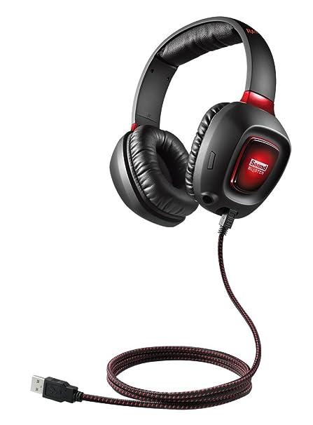 cc085347615 Amazon.com: Creative Sound Blaster Tactic3D Rage USB Gaming Headset v2:  Computers & Accessories